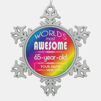 65 o Arco iris fabuloso de los mundos del Adorno