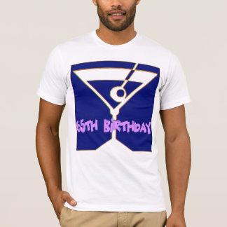 65.o Camiseta de los regalos de cumpleaños