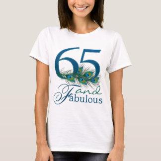 65.o Camisetas del cumpleaños
