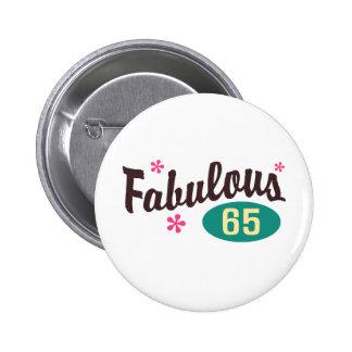 65.o Cumpleaños Pin
