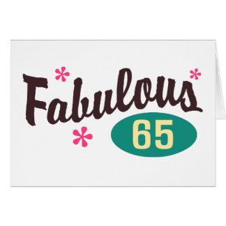 65.o Cumpleaños Felicitaciones