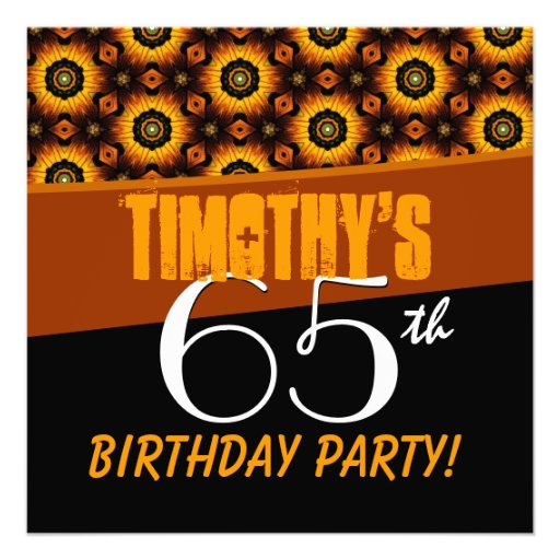 65.o El oro de la fiesta de cumpleaños asolea la p Anuncios Personalizados