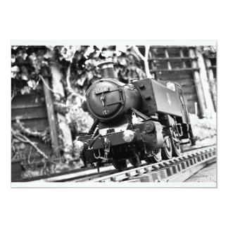 65.o El tren del cumpleaños invita Invitación 12,7 X 17,8 Cm