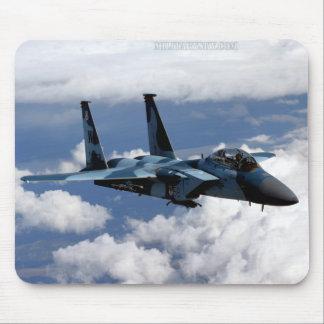65.o Escuadrilla F-15 Eagle Mousepad del agresor