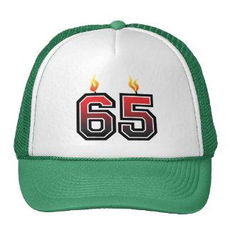 65.o Fiesta de cumpleaños Gorra