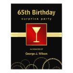 65.o Fiesta de sorpresa del cumpleaños - foto Anuncios Personalizados