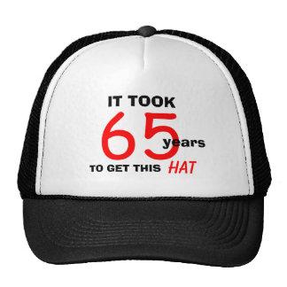 65.o Gorra de los regalos de la mordaza del