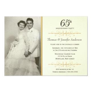 65.o Invitaciones de la fiesta de aniversario del Comunicados Personales