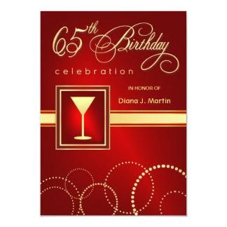 65.o Invitaciones de la fiesta de cumpleaños - Invitaciones Personales