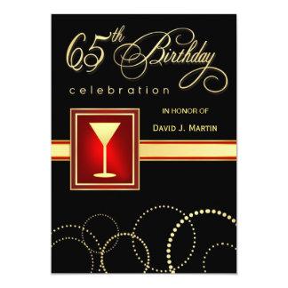65.o Invitaciones de la fiesta de cumpleaños Invitacion Personalizada