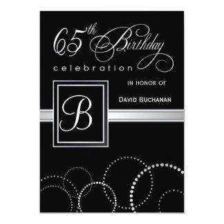 65.o Invitaciones de la fiesta de cumpleaños - con Anuncio