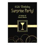 65.o Invitaciones del fiesta de sorpresa del Anuncio