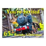 65.o La fiesta de cumpleaños invita Invitación 12,7 X 17,8 Cm