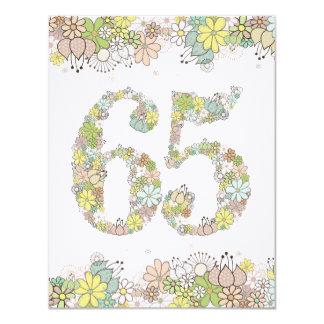 """65.o La foto natural de las señoras de las Invitación 4.25"""" X 5.5"""""""
