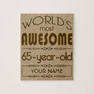 65.o Mundo de la celebración del cumpleaños mejor  Puzzle