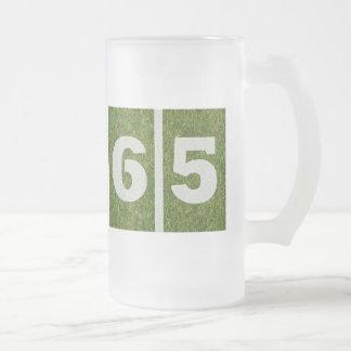 65.o Taza del vidrio del cumpleaños del fútbol de