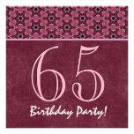 65.o V08 rosado y marrón del cumpleaños o de cualq Comunicados Personales