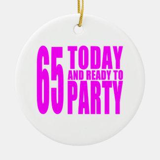 65.os cumpleaños de los chicas: 65 hoy y aliste ornato