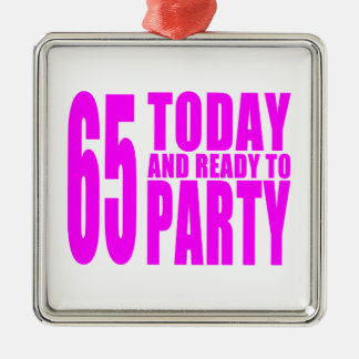 65.os cumpleaños de los chicas: 65 hoy y aliste adorno de navidad