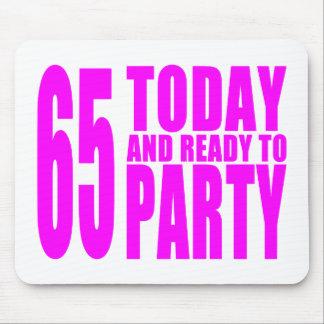 65.os cumpleaños de los chicas: 65 hoy y aliste pa tapetes de ratón