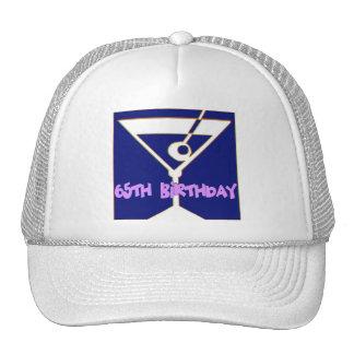 65.os regalos de cumpleaños de Martini Gorras De Camionero
