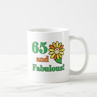 65.os regalos de cumpleaños fabulosos taza básica blanca