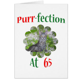 65 Purr-fection Card