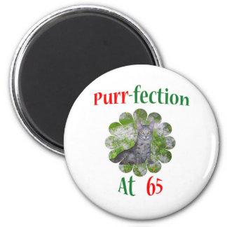 65 Purr-fection Magnet