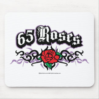 65 Roses Tribal Mouse Pad