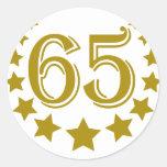 65 stars-Birthday.png Pegatina