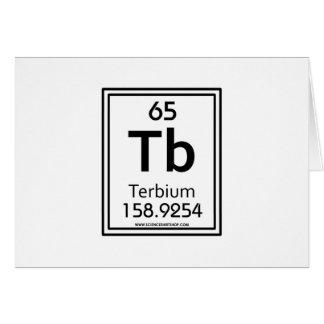 65 Terbium Card