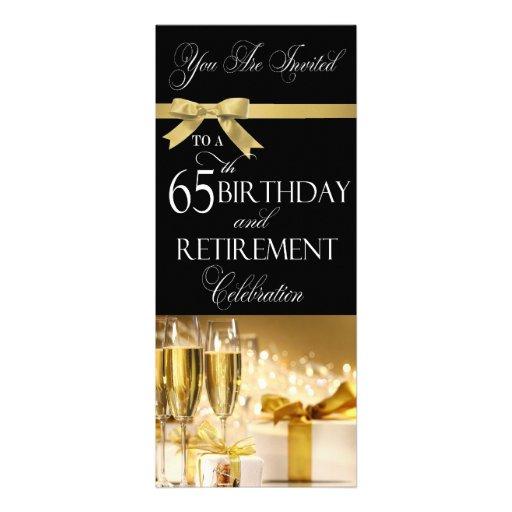 60Th Invitation with good invitations design