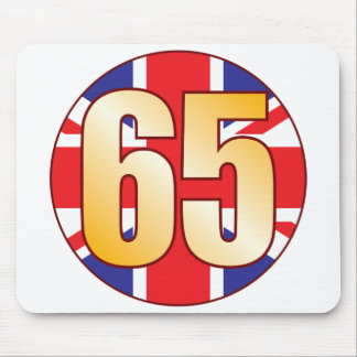 65 UK Gold Mouse Pad