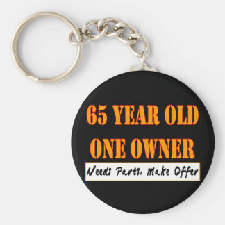 65 Year Old, One Owner - Needs Parts, Make Offer Keychain