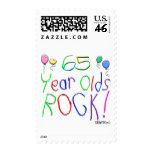 65 Year Plds Rock ! Stamps