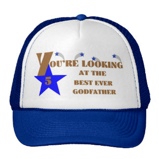 65Best Ever 5-Star Godfather Cap Trucker Hat