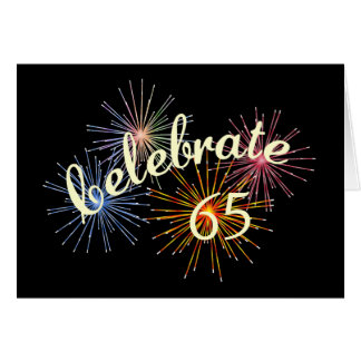 65th Anniversary Celebration Card