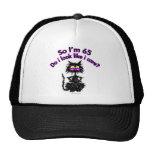 65th Birthday Cat Trucker Hat