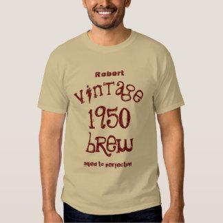 65th Birthday Gift 1950 Vintage Brew T09A T-Shirt