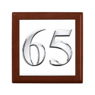 65th Birthday Keepsake Box