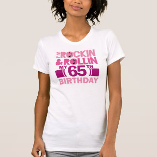 65th Birthday Gift Idea For Female Tshirt