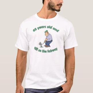65th Birthday Golfer Gag Gift T-Shirt
