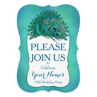 65th Birthday Invitations Personalized Invitations