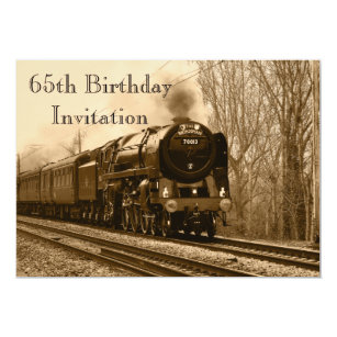 Funny 65th Birthday Invitations