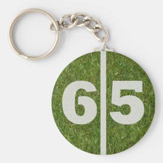 65th Birthday Party Favor Keychain