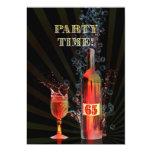 65th birthday party invitation