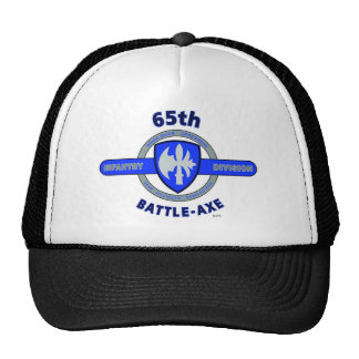 "65TH INFANTRY DIVISION ""BATTLE - AXE"" DIVISION TRUCKER HAT"