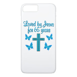 65TH LOVE JESUS iPhone 8 PLUS/7 PLUS CASE