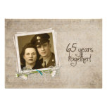 65th Wedding Anniversary Open House Personalized Announcements