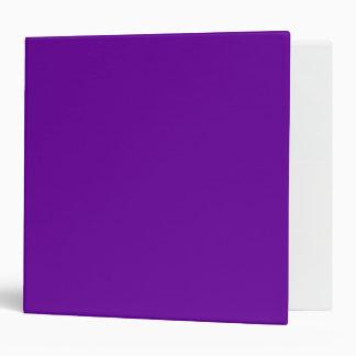 660099 Purple 3 Ring Binder